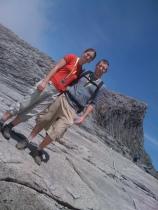 Free range kiwis on Mt Kinabalu, Malaysia