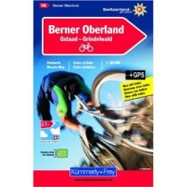 Berner Oberland Cycle Map