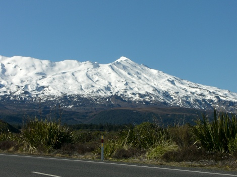 Skiing Mt Ruapehu