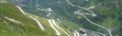 cycling Grimsel and Furka pass