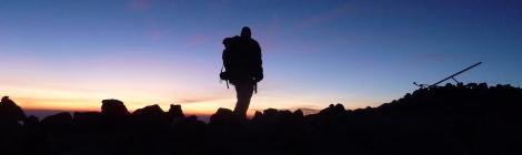 Volcan tajumulco sunrise, Guatemala