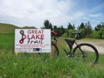 Trailhead Great Lake cycling trail Taupo NZ
