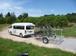 Shuttle for Great Lake Trail Taupo NZ