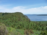 View of Lake Taupo from Great Lake Cycling Trail