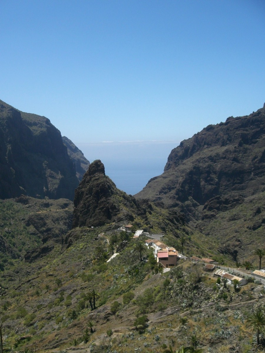 Masca Barranco trail tenerife